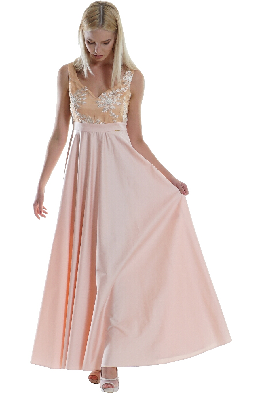Φόρεμα καπαρντίνα σε άνετη γραμμή μακρύ  910f0b20cba