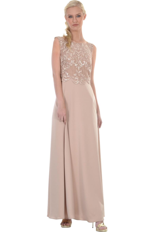 d266203d4bb1 Φόρεμα με κέντημα από παγιέτα