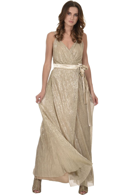 4a0bcd89c888 Φόρεμα lurex κρουαζέ - φάκελος