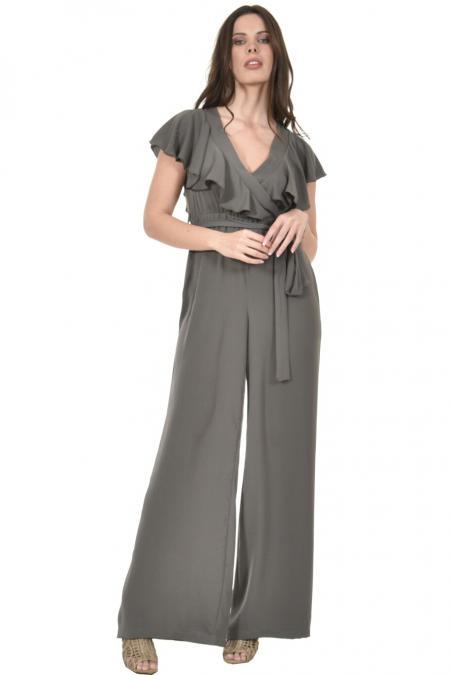 Bellino,  Παντελόνι - φόρμα σε άνετη γραμμή κρουαζέ (ΧΑΚΙ, S)