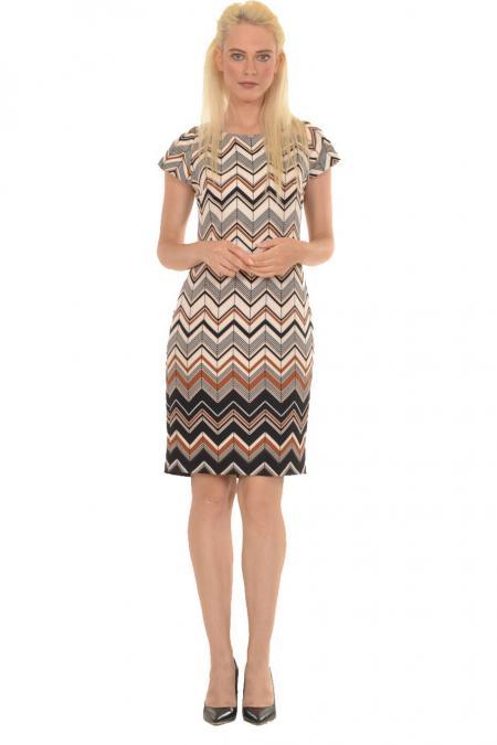 Bellino,  Φόρεμα midi που αγκαλιάζει το σώμα (ΚΑΜΕΛ, M)