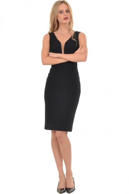 Bellino,  Φόρεμα midi σε στενή γραμμή (ΜΑΥΡΟ, L)