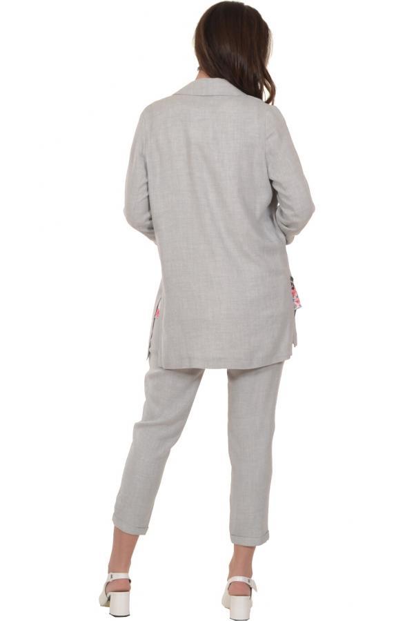 Bellino,  Σακάκι σε ίσια γραμμή με τσέπες εμπρός (ΓΚΡΙ, L)
