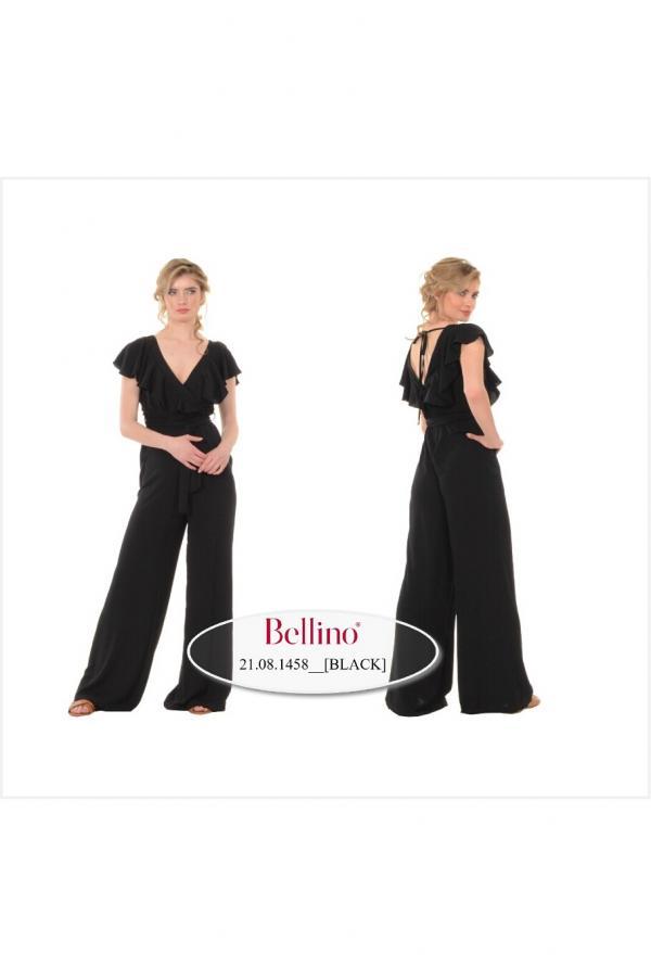 Bellino,  Παντελόνι - φόρμα σε άνετη γραμμή κρουαζέ (ΚΑΝΕΛΑ, L)