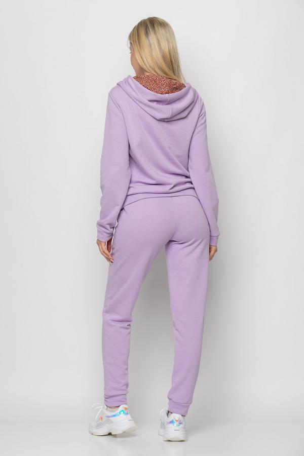 Bellino,  Παντελόνι φούτερ με τσέπες εμπρός και λάστιχο στη μέση (ΜΩΒ, L)
