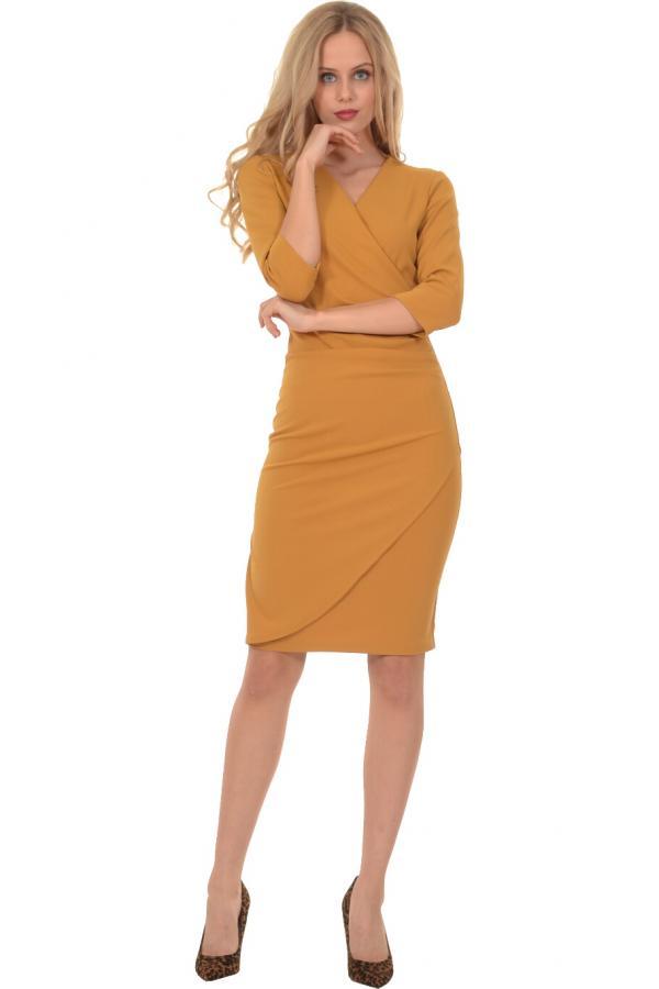 Bellino,  Φόρεμα midi κρουαζέ σε γραμμή που αγκαλιάζει το σώμα (ΩΧΡΑ, L)