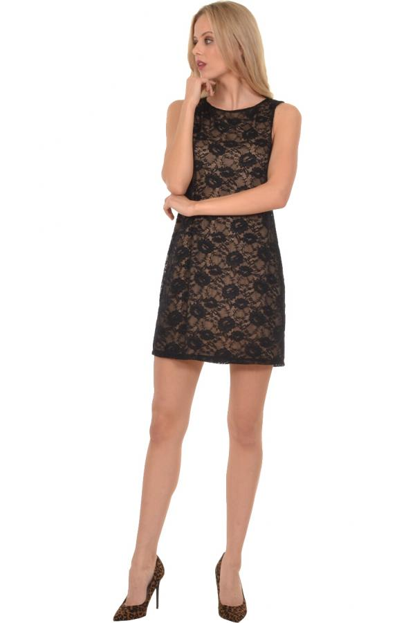 Bellino,  Φόρεμα mini σε δαντέλα (ΜΑΥΡΟ, L)