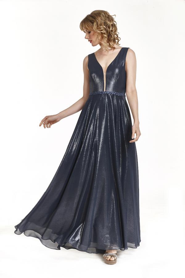 Bellino,  Φόρεμα cocktail με θηλυκό ντεκολτέ (ΜΠΛΕ, L)