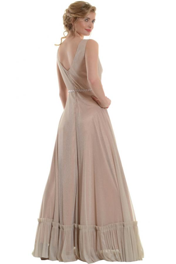 Bellino,  Φόρεμα cocktail σε lurex τούλι (ΧΡΥΣΟ, L)