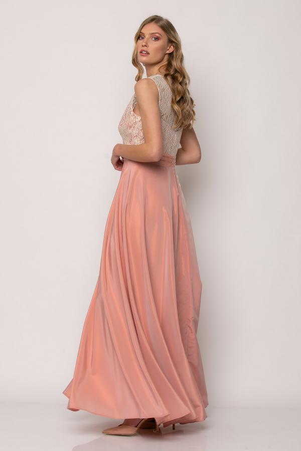 Bellino,  Φόρεμα αμπιγιέ ταφτά (ΣΟΜΟΝ, L)