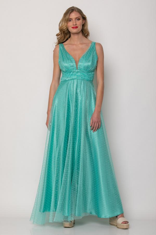 Bellino,  Φόρεμα maxi αμπιγιέ (ΒΕΡΑΜΑΝ, L)