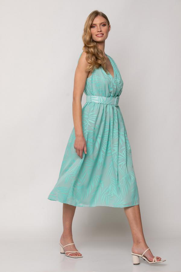 Bellino,  Φόρεμα midi κρουαζέ σε  ίσια γραμμή (ΒΕΡΑΜΑΝ, S)