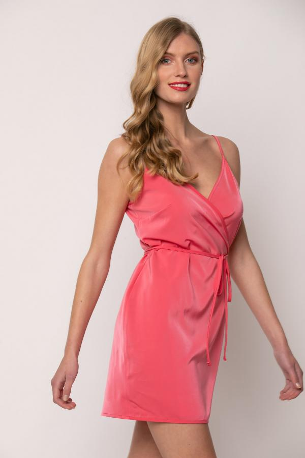 Bellino,  Φόρεμα κρουαζέ (ΦΟΥΞΙΑ, M)