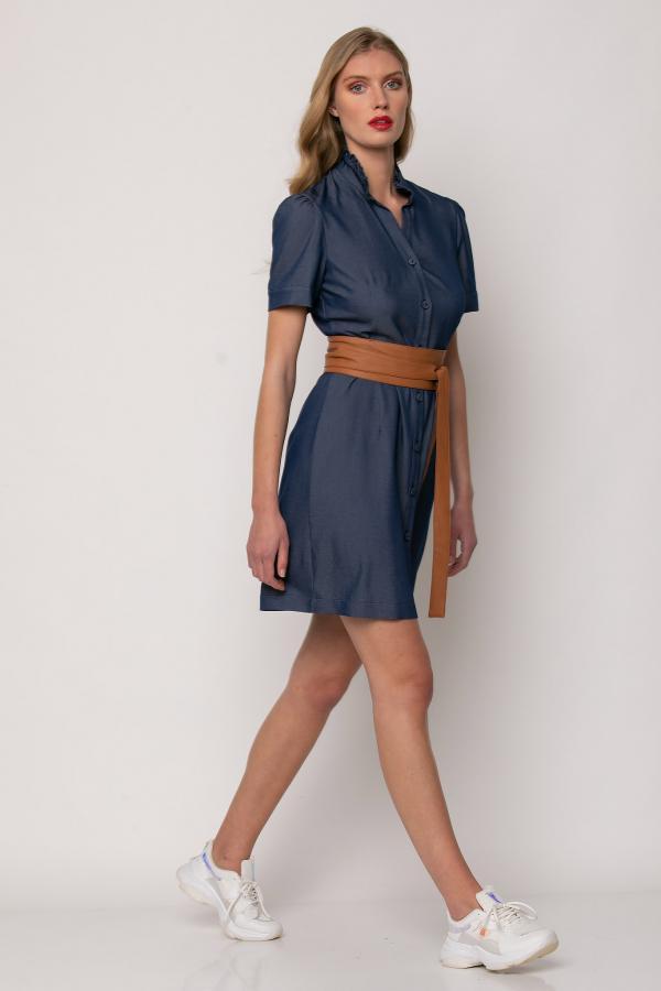 Bellino,  Φόρεμα jean (ΜΠΛΕ, XL)