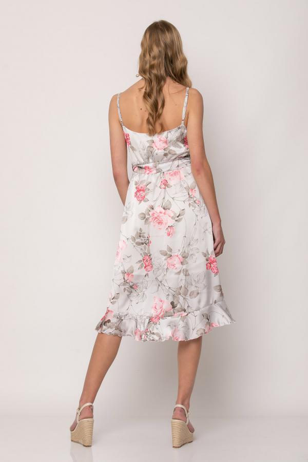 Bellino,  Φόρεμα κρουαζέ midi (ΚΟΡΑΛΙ, L)