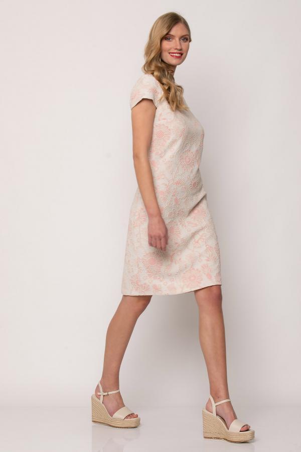Bellino,  Φόρεμα μπροκάρ (ΡΟΖ, M)