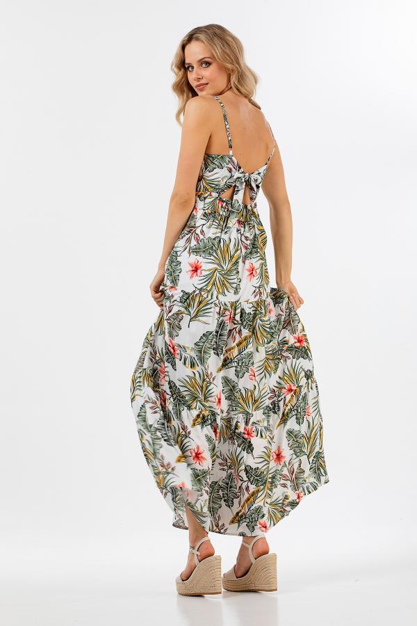 Bellino,  Φόρεμα floral (ΕΚΡΟΥ, L)