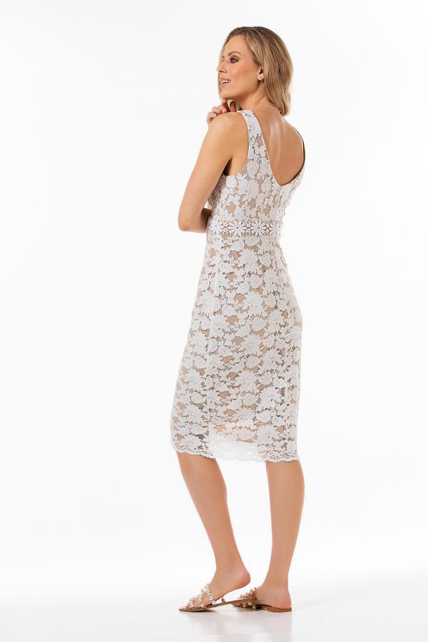 Bellino,  Φόρεμα midi (ΕΚΡΟΥ, S)