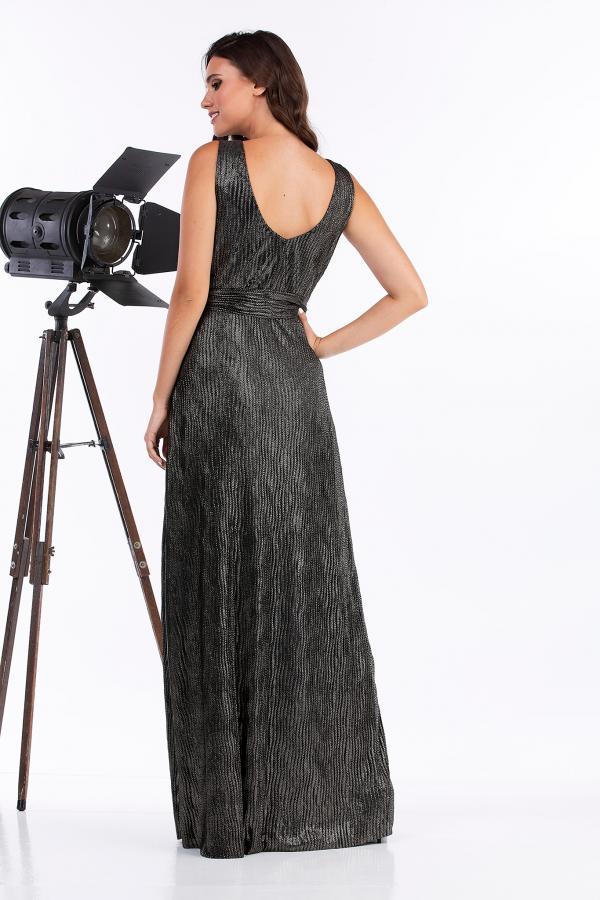 Bellino,  Φόρεμα  πλισέ κρουαζέ (ΧΡΥΣΟ, L)
