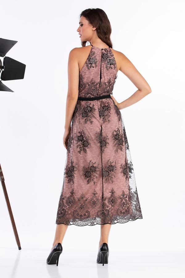 Bellino,  Φόρεμα cocktail midi (ΣΑΠΙΟ ΜΗΛΟ, M)