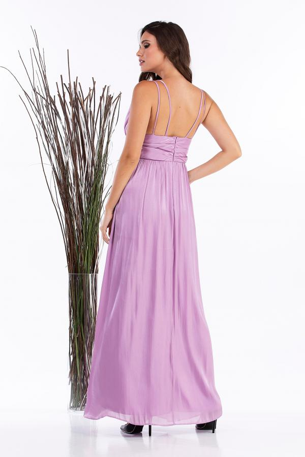 Bellino,  Φόρεμα cocktail σατέν ιριζέ (ΛΙΛΑ, XL)