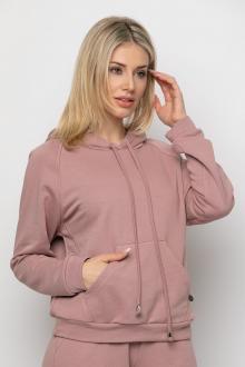 Bellino,  Μπλούζα ρεγκλάν φούτερ με τσέπη εμπρός και κουκούλα (ΣΑΠΙΟ ΜΗΛΟ, L)