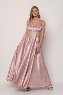 Bellino,  Φόρεμα αμπιγιέ σατέν (ΜΩΒ, L)