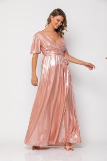 Bellino,  Φόρεμα cocktail μακρύ κρουαζέ (ΣΟΜΟΝ, L)