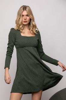 Bellino,  Φόρεμα πλεκτό (ΠΡΑΣΙΝΟ, XL)
