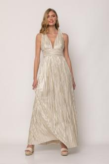 Bellino,  Φόρεμα πλισέ (ΧΡΥΣΟ, M)