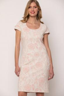 Bellino,  Φόρεμα μπροκάρ (ΡΟΖ, L)