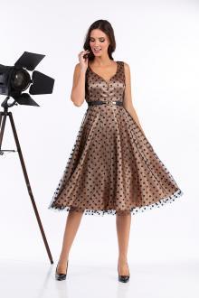 Bellino,  Φόρεμα cocktail mini (ΧΡΥΣΟ, XL)