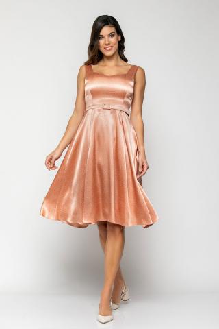 Bellino,  Φόρεμα midi με φαρδιά τιράντα και πιέτες κάτω (ΣΟΜΟΝ, S)