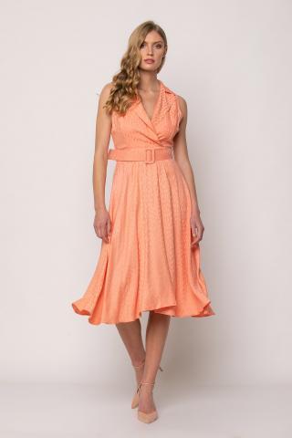 Bellino,  Φόρεμα σατέν midi σε  κλος γραμμή (ΣΟΜΟΝ, S)