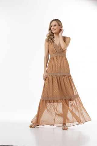 Bellino,  Φόρεμα μακρύ (ΚΑΜΕΛ, L)