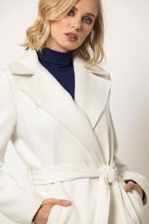 Bellino,  Παλτό με ζώνη και τσέπες σε μοντέρνα γραφή (ΕΚΡΟΥ, L)