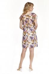 Bellino,  Φόρεμα mini με άνοιγμα στα μανίκια (ΚΕΡΑΜΙΔΙ, L)