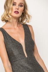 Bellino,  Φόρεμα mini σε στενή γραμμή με θηλυκό ντεκολτέ (ΑΣΗΜΙ, L)