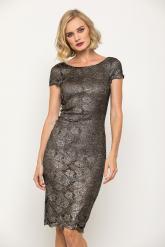 Bellino,  Φόρεμα midi με ανοιχτή πλάτη (ΧΡΥΣΟ, L)
