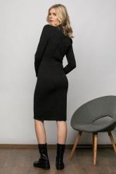 Bellino,  Φόρεμα πλεκτό (ΜΑΥΡΟ, L)